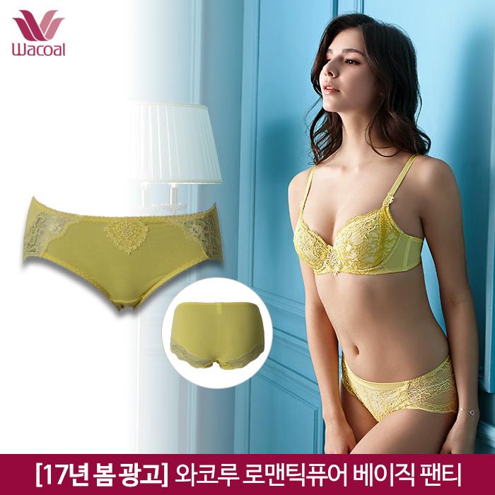 [17년 봄 광고]와코루 로맨틱퓨어 베이직 팬티